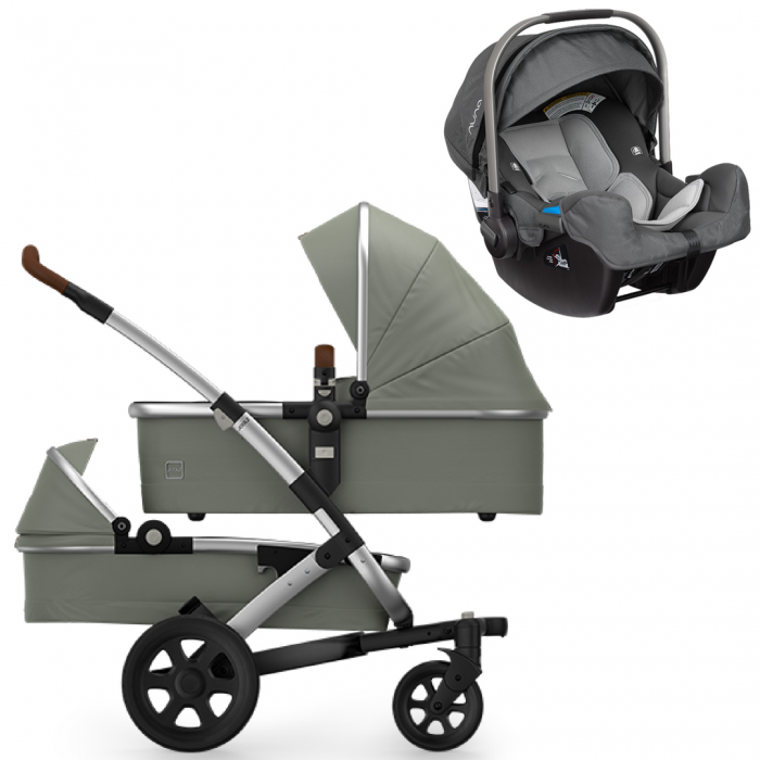Joolz Geo 2 Twin Stroller And Nuna Pipa Infant Car Seat Travel System