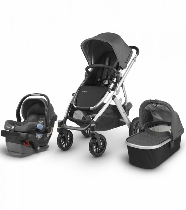 Uppababy Vista With Bassinet And Car Seat
