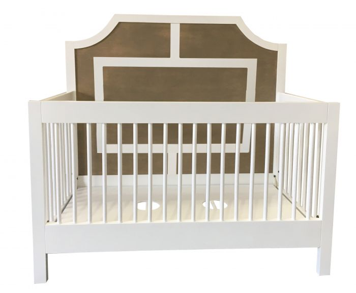 Max Conversion Crib with Moldings
