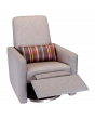 Swivel Base with Grey Paul Smith Pillow