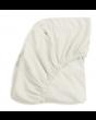White Organic Crib Sheet