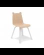 Birch bear ear chair