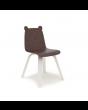 Walnut bear ear chair